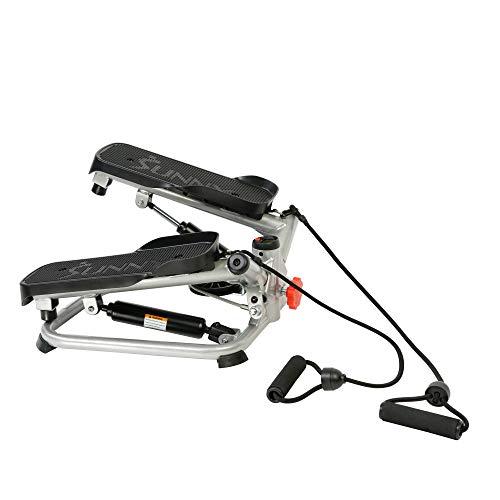Sunny Health & Fitness Total Body Advanced Stepper Machine - SF-S0979, Gray