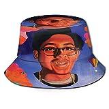 XCNGG Cuco Sombrero de Pescador Unisex Sombrero de Cubo Sombreros de Pescador Gorra Plegable de Verano para Exteriores Sombrero de Viaje para la Playa