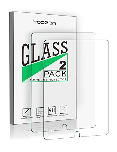iPad Pro 10.5 Screen Protector Glass [2 Pack],Yoozon [Apple Pencil Compatible] Tempered Glass Screen Protector for Apple iPad Pro 10.5 Inch