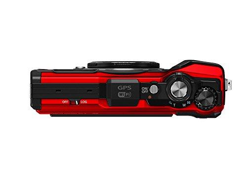 OLYMPUSデジタルカメラToughTG-5レッド1200万画素CMOSF2.015m防水100kgf耐荷重GPS+電子コンパス&内蔵Wi-FiTG-5RED