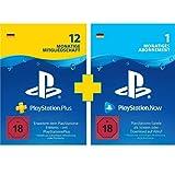 PlayStation Plus 12 Monate + PlayStation Now 1 Monat (gratis)   PS4/PS5 Download Code   deutsches...