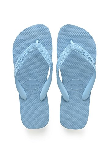 Havaianas Unisex Adults Top Flip Flops,Blue Splash,10.5 UK (45/46 EU) (43/44 BR)