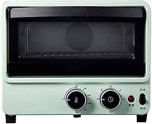 10L Petit déjeuner poêle Ménage Petit Mini machine multifonction four électrique cuisinière four blanc d'oeuf,bleu