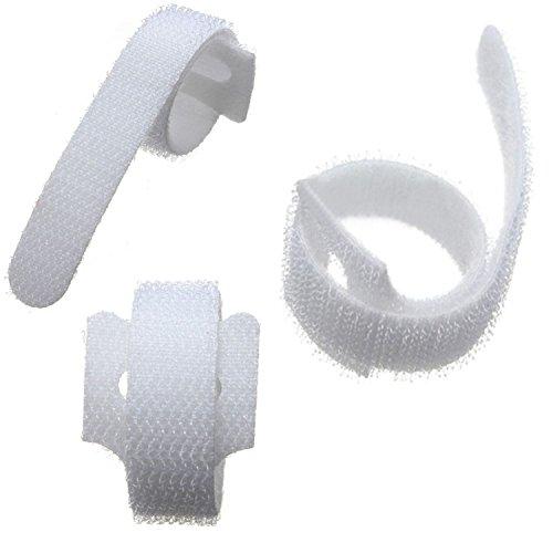 Velcro® - Bridas para cables (10 unidades, 20 mm x 200 mm),...