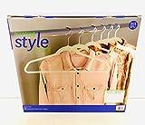 Better Homes & Garden Bhg 25pk Nonslip Hangers-Beige