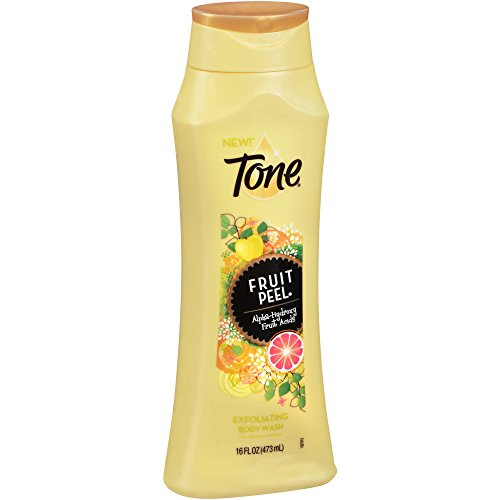 Tone Citrus Peel Exfoliating Body Wash, With Alpha-Hydroxy Fruit Acids, 16 Fl. Oz.