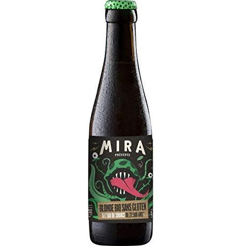 Bière - Mira - Biere Blonde - Bio - Sans gluten - 5.6% Vol. - 25 cl