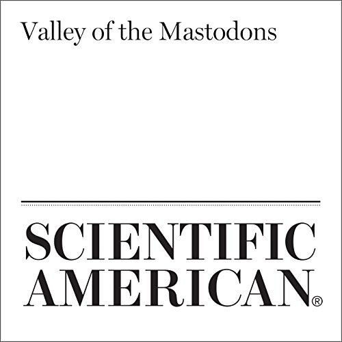 Valley of the Mastodons audiobook cover art