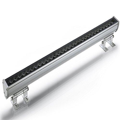 (RGB 62 * 63 * 1000 mm) AC85~265V 16key Fernbedienung RGB LED Außenwandbeleuchtung 36W LED Liner Bar Licht Outdoor IP65 Wasserdicht