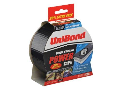 Unibond Power Tape Noir 50 mm x 25 m