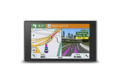 Garmin DriveLuxe 51 NA LMT-S with Lifetime Maps/Traffic, Live Parking, Bluetooth, WiFi, Smart Notifications, Voice Activation, Driver Alerts, TripAdvisor, Foursquare (Renewed)