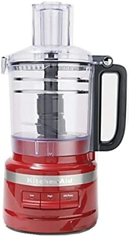 popular KitchenAid KFP0919ER 9 Cup Plus Food Processor, outlet sale Empire 2021 Red (Renewed) online sale