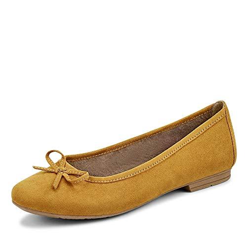 Jana Softline Damen 8-8-22164-25 Ballerinas, Saffron