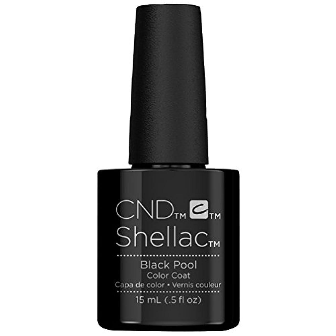 シーフード谷極めてCND Shellac - Limited Edition! - Black Pool - 15ml / 0.5oz