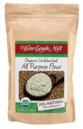 War Eagle Mill All Purpose Flour, Organic, non-GMO, Unbleached (2 lbs)
