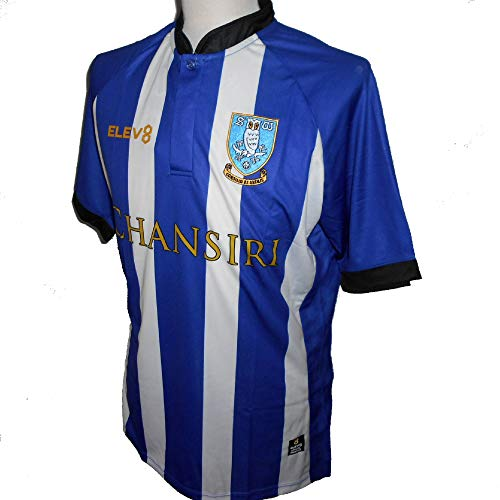 Elev8 Sheffield Wednesday FC Herren Heimtrikot 2018-2019 XL blau