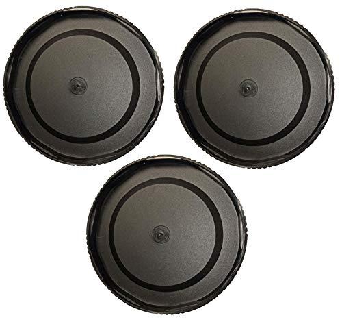 3 Pack Kase K9 Lens Caps for K9 100mm Magnetic Filter Holder
