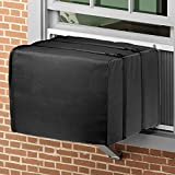Daisypower Outside Window Air Conditioner Cover,Medium 25W x 17H x 21D Inches, Bottom Covered Outdoor Winter AC Unit Cover