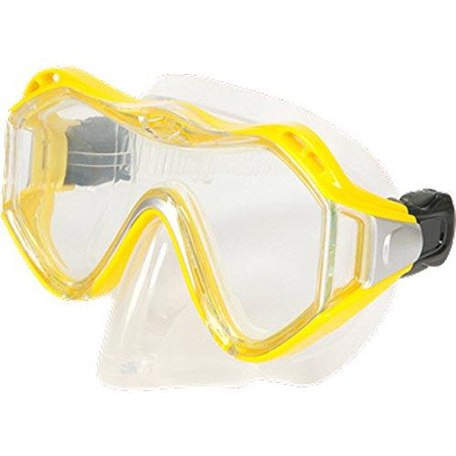 Leader Rx-Masque de plongée Junior-Rx Adaptateur pour objectifs observé, Jaune