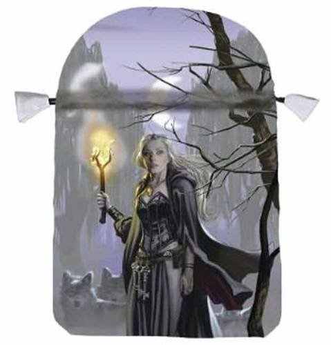 Witches Moon Satin Tarot Bag