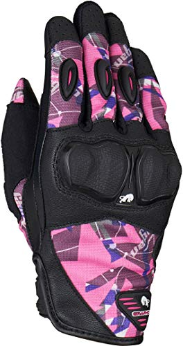 Furygan Graphic Evo2 Ld Handschuhe, Damen XL Schwarz/Rosa