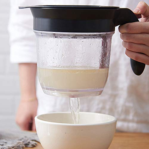 xingxing Oil Strainer Pot Container Jar Storage Can With Filter Cooking Oil Pot Kitchen Utensils
