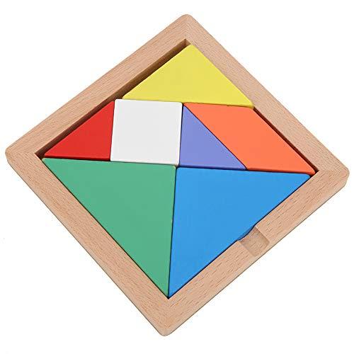 Brinquedo quebra-cabeça de madeira, brinquedo quebra-cabeça colorido, crianças para crianças