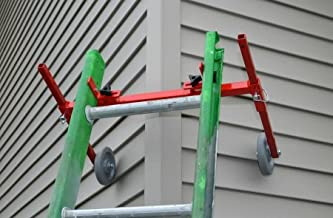 Ladder Stand-off/Stabilizer Corner Buddy, Equipped with Wheels
