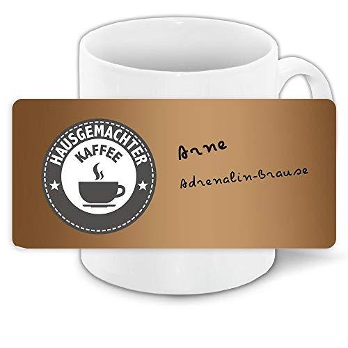 Tasse mit Namen Arne und Hausgemachter Kaffee-Motiv | Keramik-Tasse | Kinder-Tasse