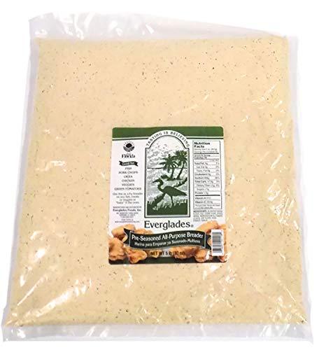 Everglades Seasoning Pre-Seasoned Breader Bread Crumb Mix 5 lbs