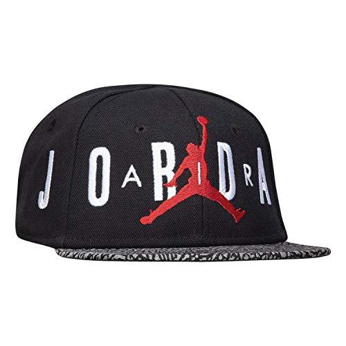 Nike Air Jordan Ele Infant 12-24M Hat with Adjustable Snapback Closure (Black)