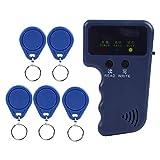 RFID Copiadora, Lector RFID Grabador de Mano 125 Khz RFID duplicador para Seguridad en el hogar + 5 unids Escrito EM4305 Llaves