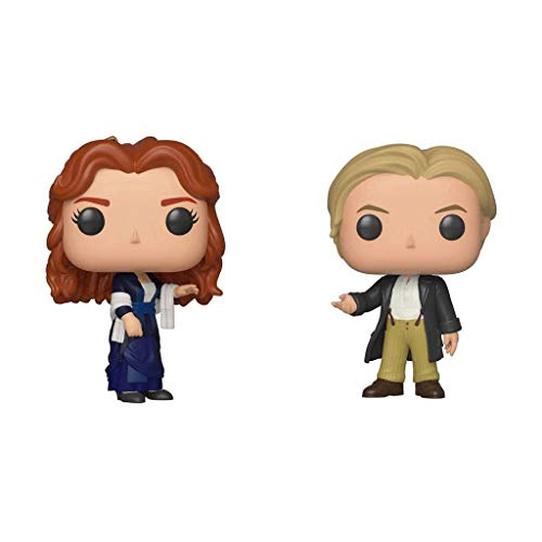 Funko Pop Movies : Titanic - Rose & Jack 3.75inch Vinyl Gift for Movies Fans SuperCollection