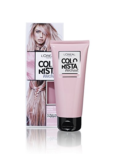 L'Oreal Colorista Washout Temporary Hair Dye Pink, 80ml