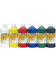 Handy Art Little Masters 6-16 oz. Tempera Paints Set.