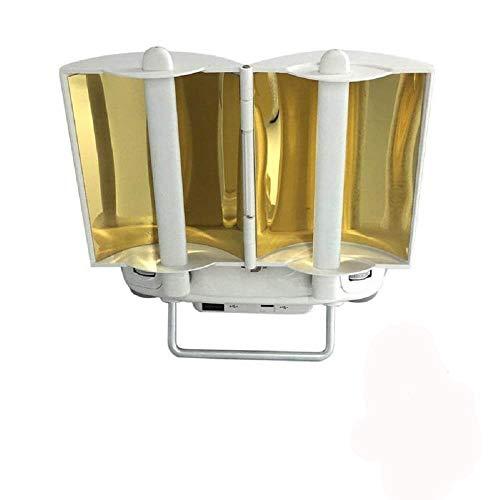 Kingwon Plegable Copper Antena Parabólica Range Booster para dji Phantom 4 4...