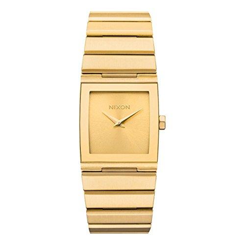 Nixon Unisex Erwachsene Digital Uhr mit Edelstahl Armband A1092-502-00
