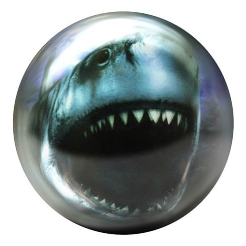 Shark Glow Viz-A-Ball Bowling Ball by Brunswick