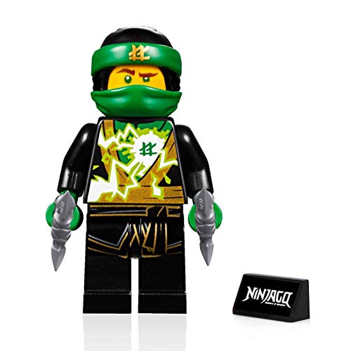 LEGO Ninjago Minifigure - Lloyd (Spinjitzu Masters) - Sons of Garmadon with Side Display 70640
