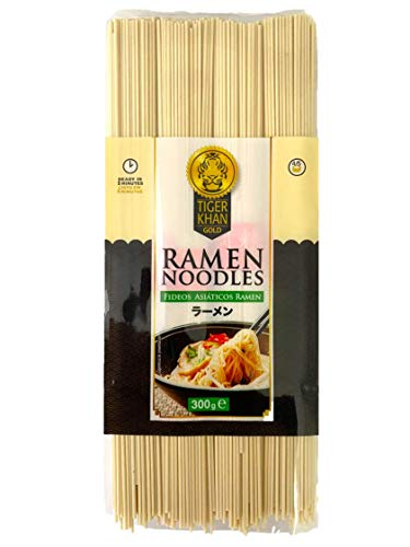 TIGER KHAN - Ramen Noodles - Delizioso per pasti giapponesi - 300g