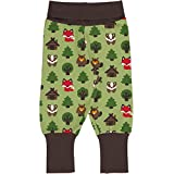 Maxomorra Baby Pants Rib Green Forest 098/104