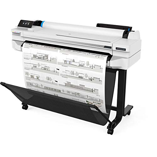 HP DesignJet T530 Large Format Wireless Plotter Printer - 36', with Mobile Printing (5ZY62A)