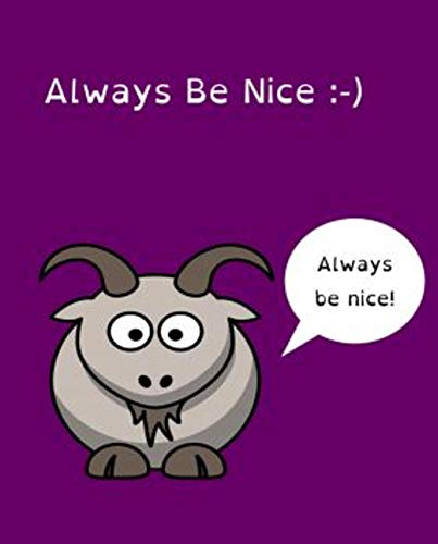 always be nice: World classic picture book recommendation (English Edition)