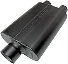 Flowmaster 9430472 Super 44 Muffler - 3.00 Center IN / 2.25 Dual OUT - Aggressive Sound