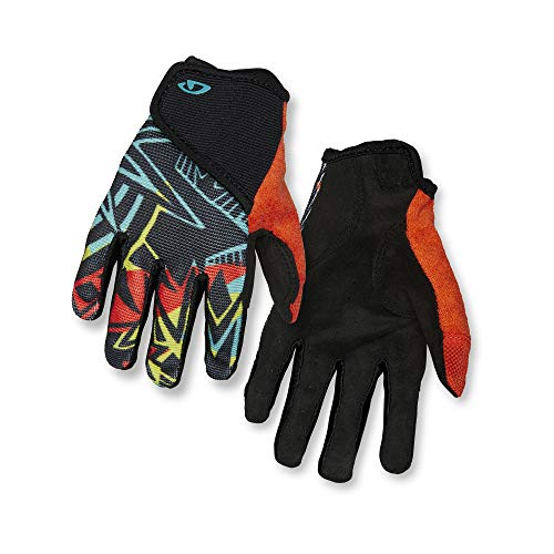 Giro DND Jr II Youth Mountain Cycling Gloves - Blast (2021), Large