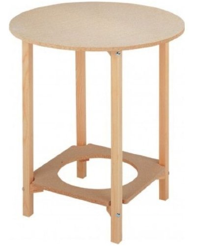 Mesa camilla redonda 80 cm
