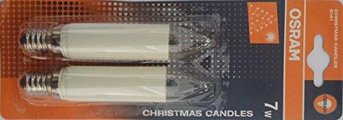 Osram Weihnachtsbeleuchtung 6141 7W 15V E14 20XBLI2 CAK 15