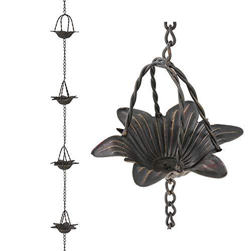 Brogan Metall dekorative Regenkette für...