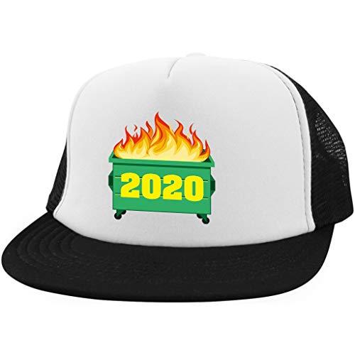 We Got Good 2020 Dumpster Fire Hat 2020 Sucks Hat White/Black