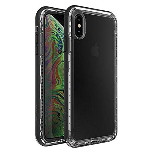 LifeProof Next Series Case for iPhone Xs MAX - Non-Retail Packaging - Black Clear